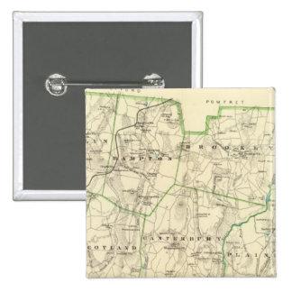 Windham Co S 15 Cm Square Badge