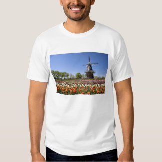 Windmill Island park with tulips in bloom at Tshirt