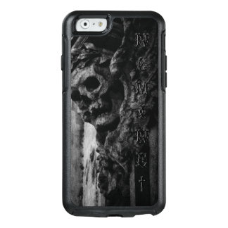 WINGED SKULL Macabre Facade Custom Name OtterBox iPhone 6/6s Case