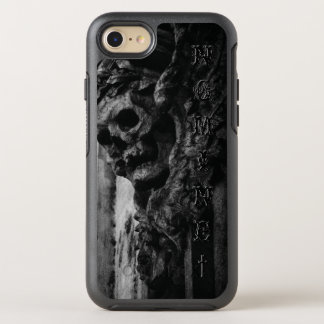 WINGED SKULL Macabre Facade Name OtterBox Symmetry iPhone 7 Case