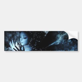 Winter Fairy Bumper Sticker