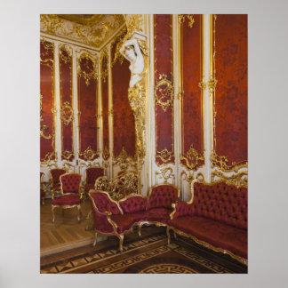 Winter Palace, Hermitage Museum, interior 2 Poster