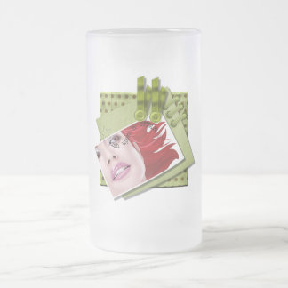 Wish Upon A Star - Frosted Glass Stein Frosted Glass Mug