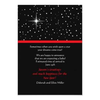 Wish Upon a Star Holiday Card 13 Cm X 18 Cm Invitation Card