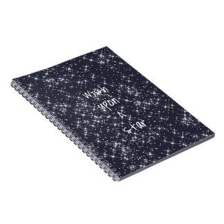 Wish Upon A Star Spiral Notebook