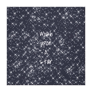 Wish Upon A Star Stretched Canvas Print