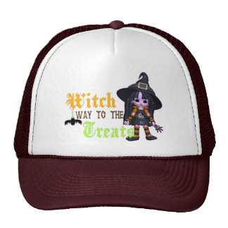 Witch Way To The Treats Cap