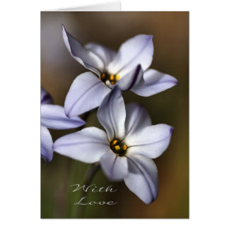 With Love - Floria Greeting Card
