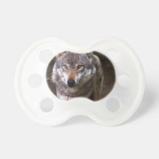 wolf baby pacifiers