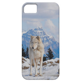 Wolf & Mountain Wildlife Art iPhone 5 Case
