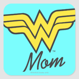 Wonder Mom Classic Square Sticker