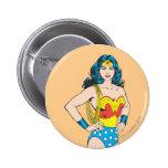 Wonder Woman Portrait 6 Cm Round Badge