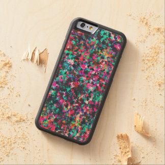 Wood Case iPhone 6 Informel Art Abstract