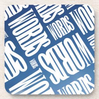 Words Coaster Set