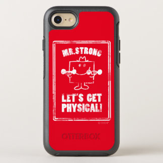 Work Out With Mr. Strong OtterBox Symmetry iPhone 7 Case