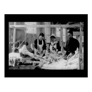 World War One Nurse Field Hospital Postcard
