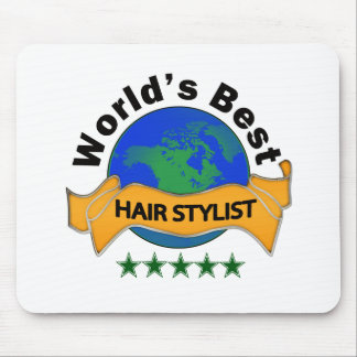 World's Best Hair Stylist Mouse Pad