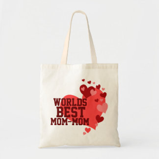 Worlds Best Mom-Mom Personalized Budget Tote Bag