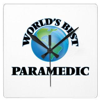 World's Best Paramedic Clock