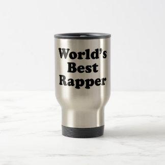 World's Best Rapper Stainless Steel Travel Mug