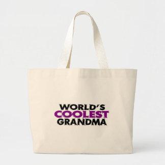 Worlds Coolest Grandma Jumbo Tote Bag