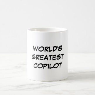 """World's Greatest Copilot"" Mug"