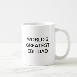 WORLD'S GREATEST EBITDAD BASIC WHITE MUG