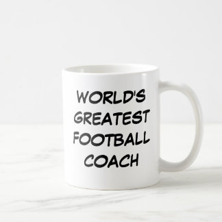 """World's Greatest Football Coach"" Mug"
