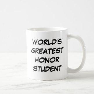 """World's Greatest Honor Student"" Mug"
