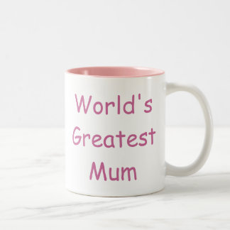 Worlds Greatest Mum Two-Tone Mug