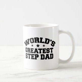 World's Greatest Step Dad Basic White Mug