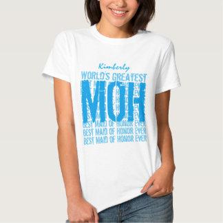 World's Greatest Wedding Maid of Honor MOH V021 Tees