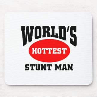 World's hottest stunt man mouse pad