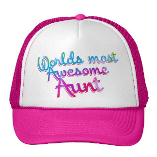 Worlds most awesome aunt cap