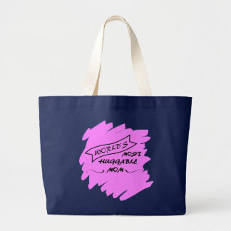Worlds Most Huggable Mom - Mothers Day Tote Bag