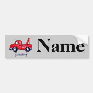 Wrecker Tow Truck Bumper Sticker