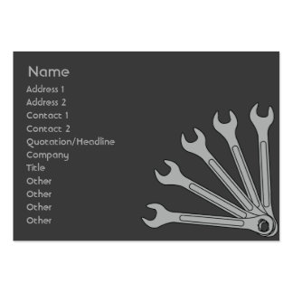 Wrench - Chubby Pack Of Chubby Business Cards