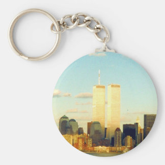 wtc memory basic round button key ring