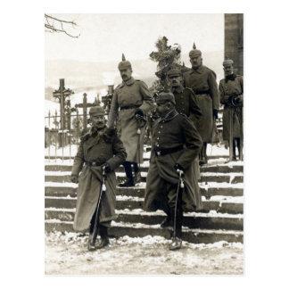 WWI German High Command Postcard