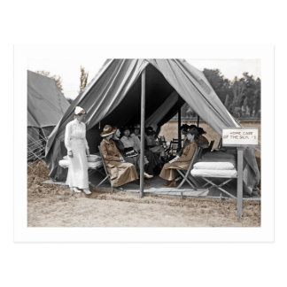 WWI Nurse Trainees Postcard