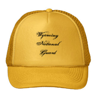 Wyoming National Guard Cap