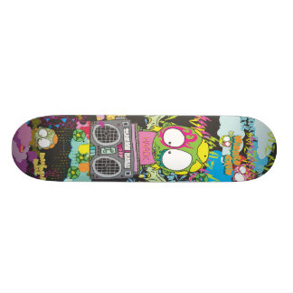 WZRD HAACK Deck 21.3 Cm Mini Skateboard Deck