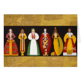 X004 Women of the World Greeting Card