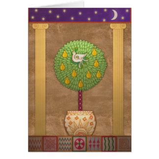 X009 Partridge in a Pear Tree Greeting Card