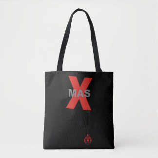 Xmas & Ornaments Ball + your backgr. & ideas Tote Bag
