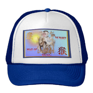 Year Of The Monkey-2016 Cap