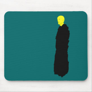 Yellow monk witness the end mouse pad