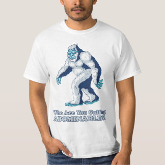 Yeti: Who are you calling Abominable?! Tees