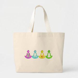 Yoga Girls Jumbo Tote Bag