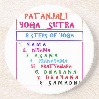 Yoga Wisdom Words Coasters